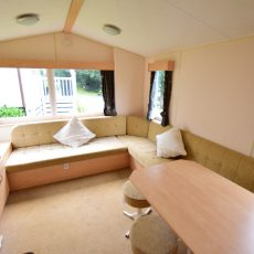 Willerby Caernarfon 2009 Living and Dining Areas