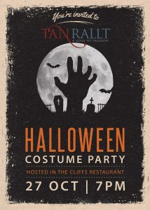 Halloween Party - Costume Party - 27th October from 7pm