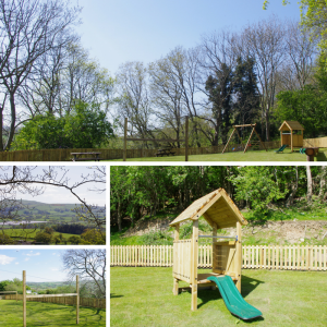 The Woods Play Area Tan Rallt Holiday Park Rhyd Y Foel