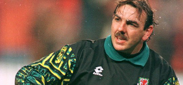 Neville Southall - Sat down