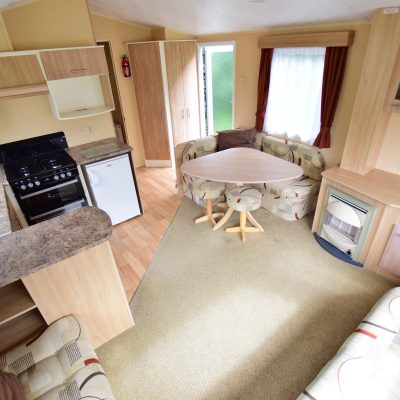 Willerby Rio 2010 Living Area