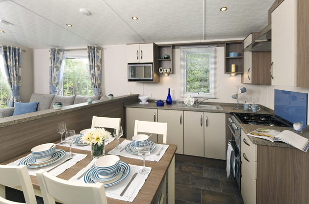 victory fernwood - dining area - caravan for sale in North Wales