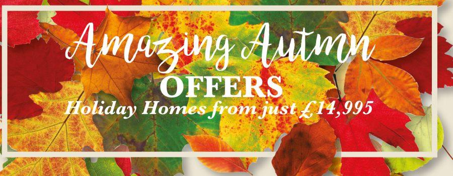 Caravan Sales in North Wales - Autumn Offer