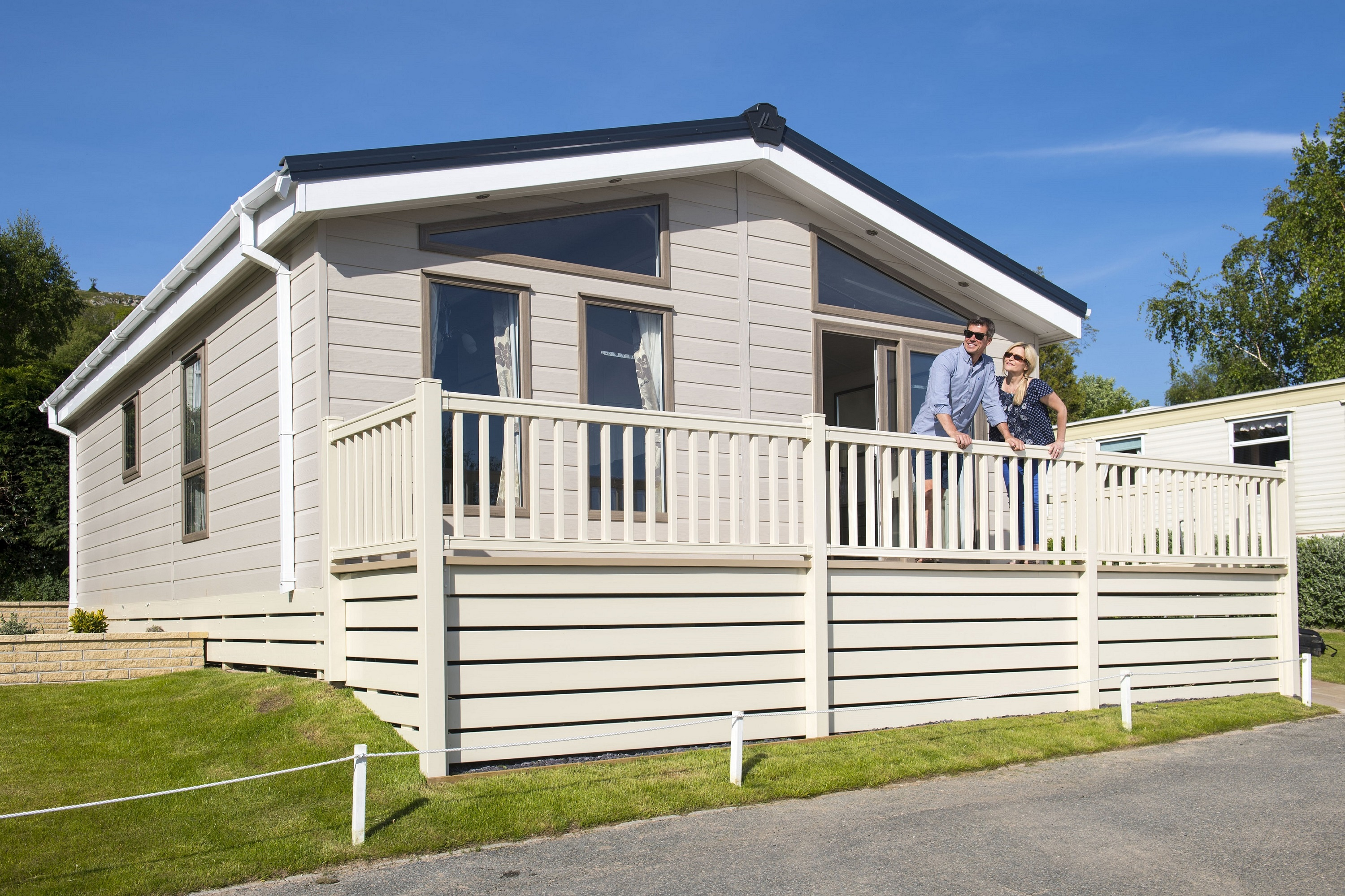 Caravan for sale in north wales at tan rallt luxury holiday park
