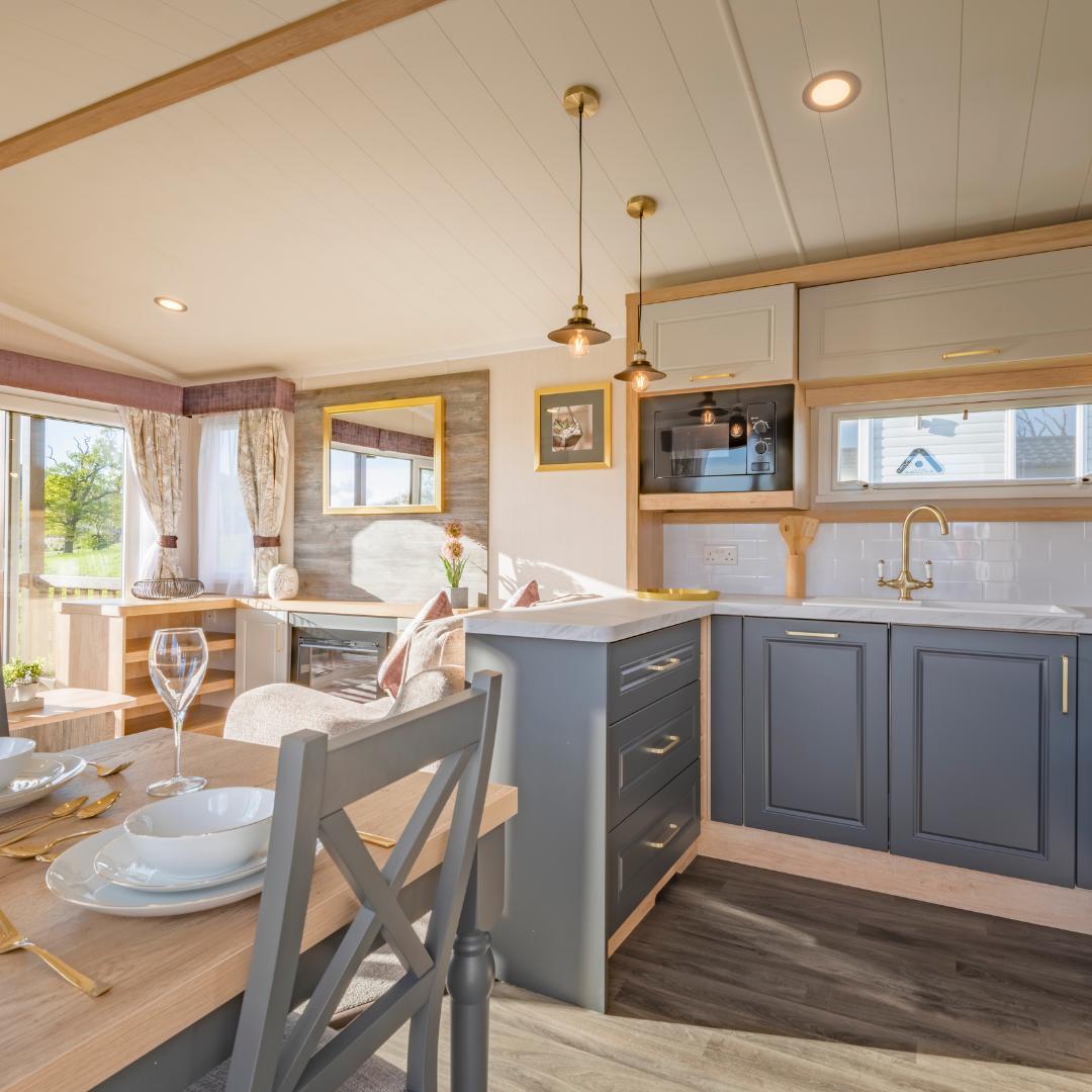 Swift Bordeaux Escape Caravan for Sale Open Plan Area