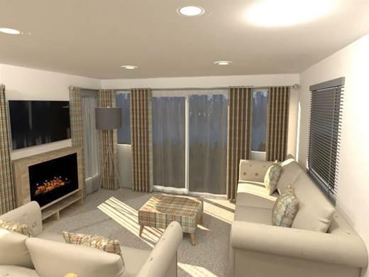 Atlas Abode Holiday Home Living Area