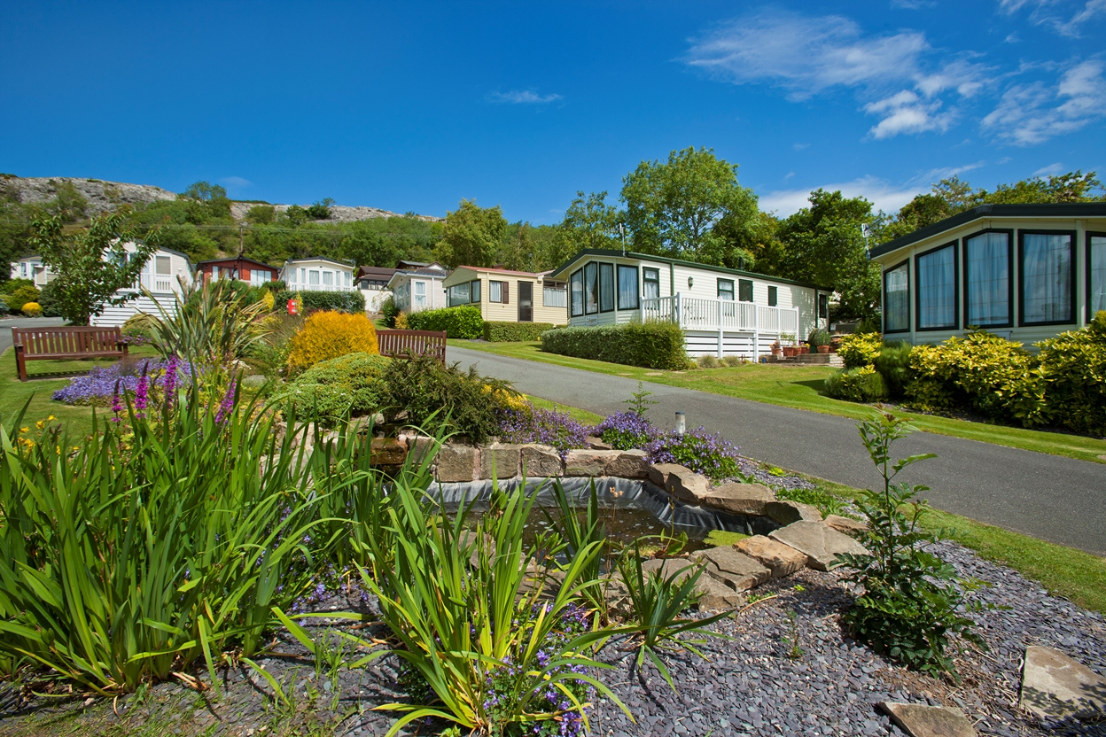 Holiday in North Wales - Ownership in North Wales - Tan Rallt Holiday Park - Caravan park