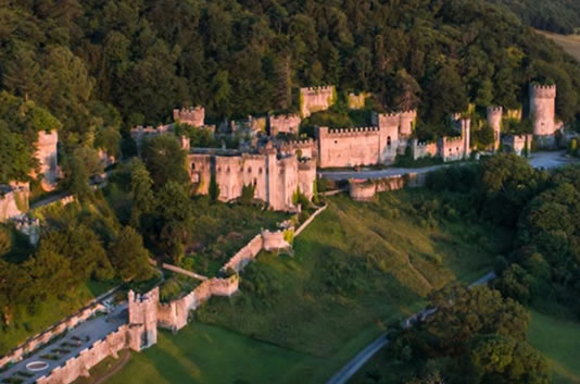 family days out in North Wales - Gwrych Castle - Events in North Wales