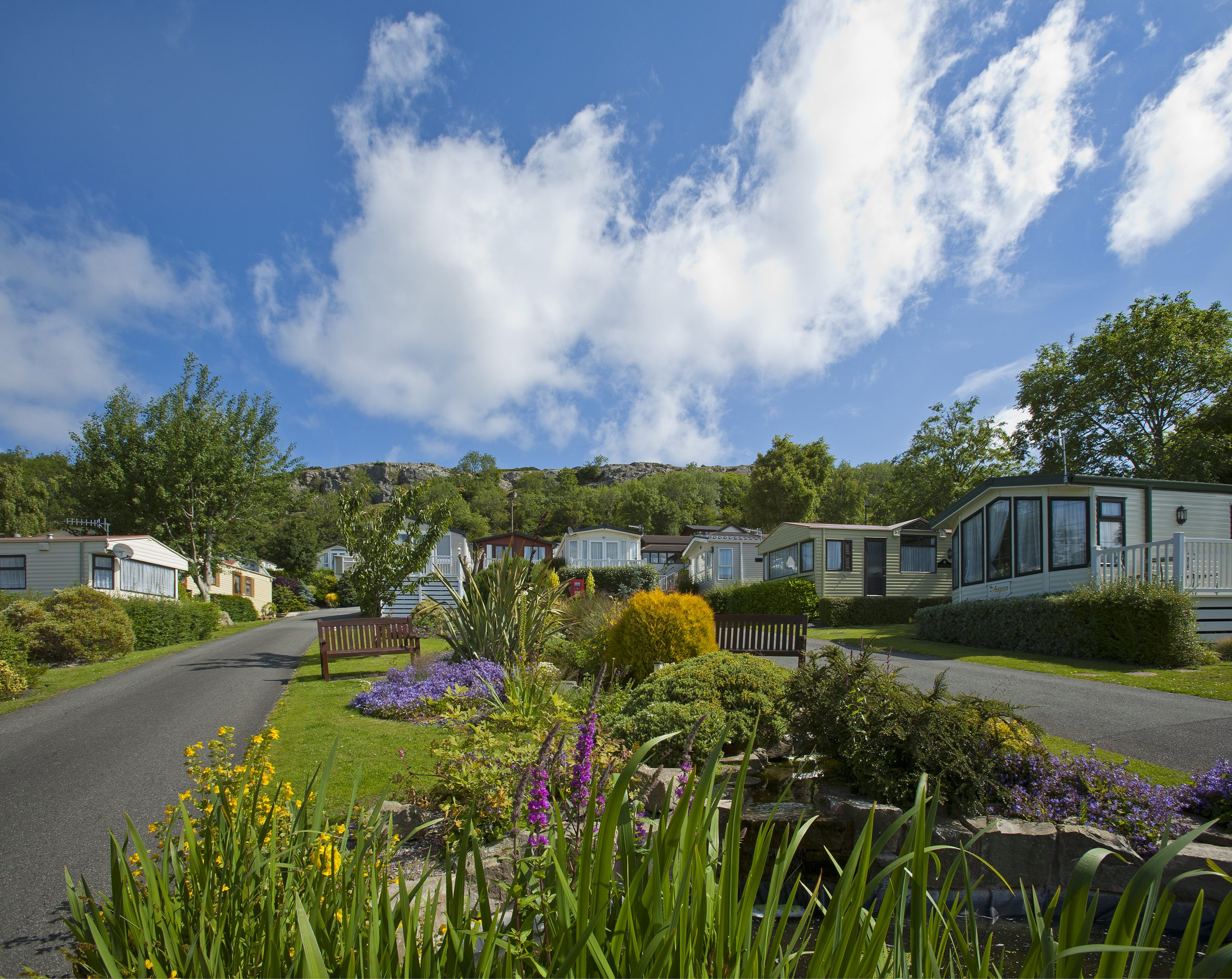 luxury holiday park in north wales