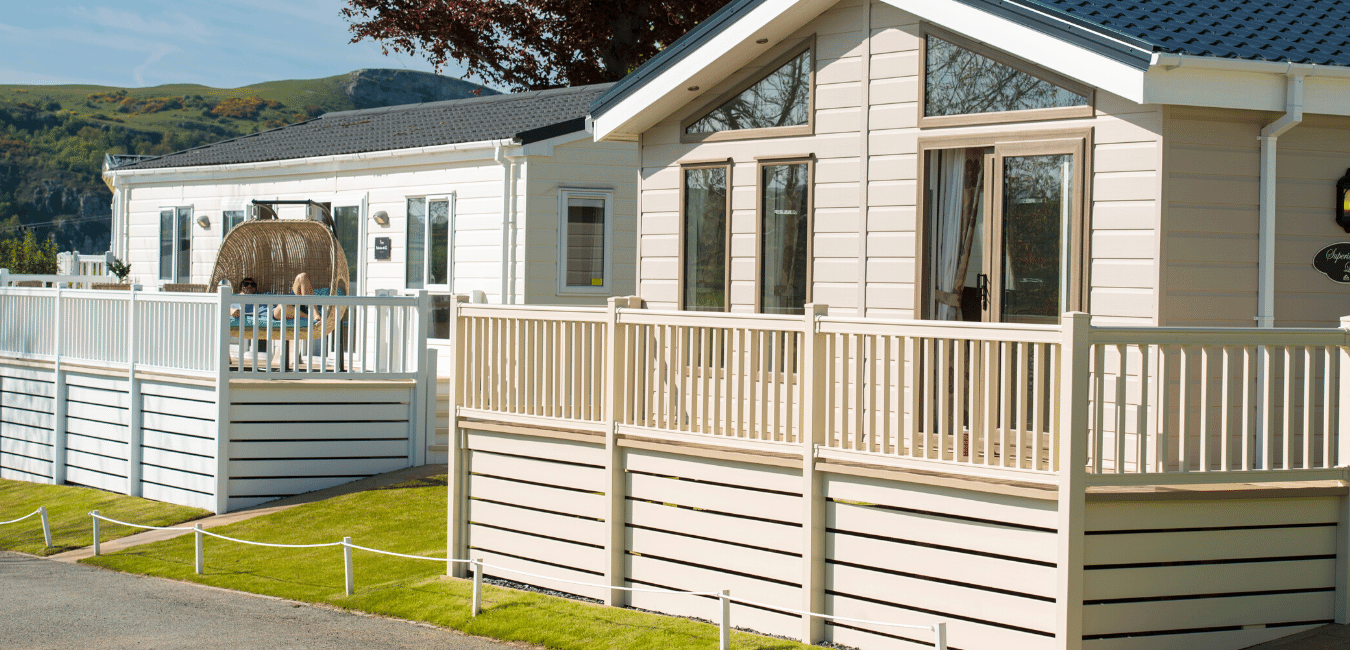 Holiday Lodges for Sale, New Lodge Development Tan Rallt